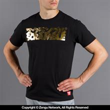 "Scramble ""Gold Logo"" Shirt"